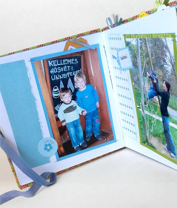 Budaházi Brigitta: Húsvéti scrapbookalbum