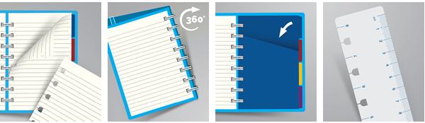 A Filofax Notebook előnyei